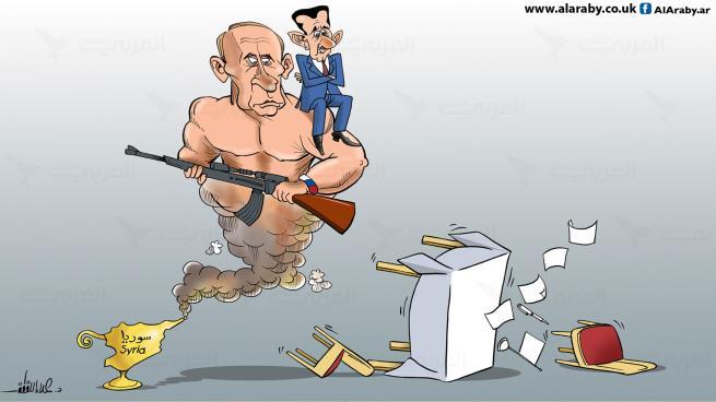 روسيا والاستقلال السوري