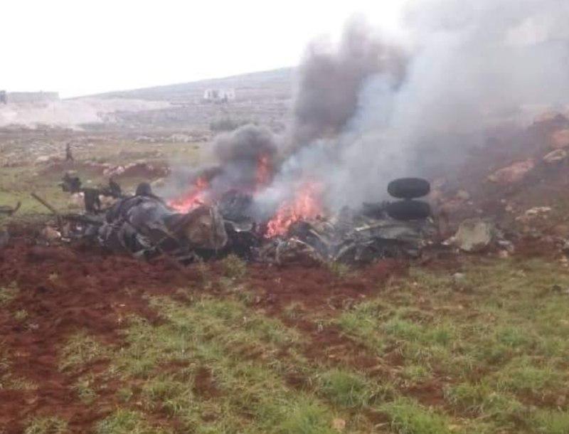 الثوار يسقطون مروحية غربي حلب .. النظام يسحب طائراته من الأجواء