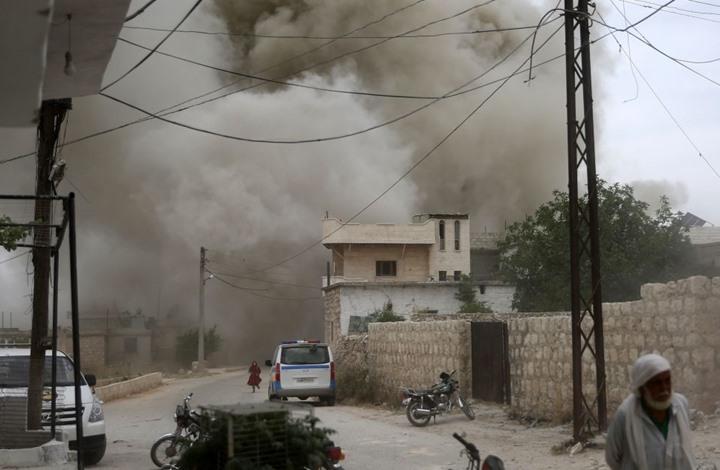 النظام يجدّد خرق وقف إطلاق النار في إدلب ويعزّز قواته بسراقب
