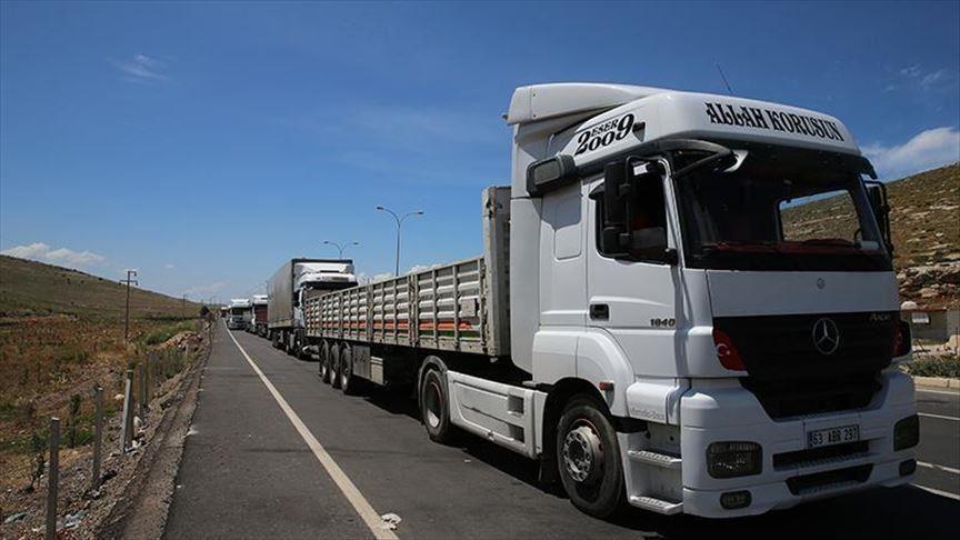 51 شاحنة مساعدات أممية تدخل إدلب