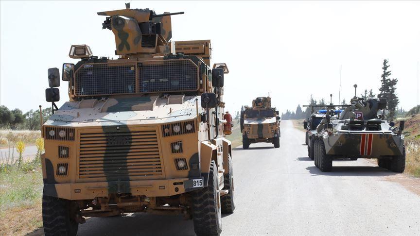 تسيير الدورية التركيةـ الروسية الـ12 بإدلب