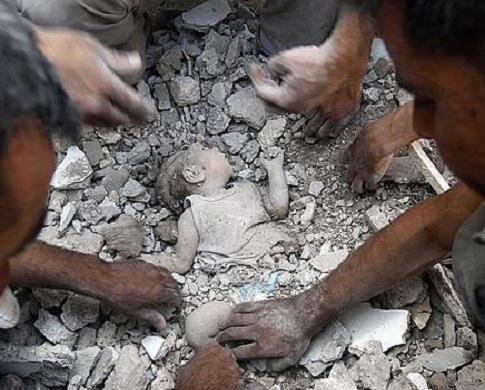 61 قتيلاً حصيلة ضحايا قصف الطيران الروسي الأسدي يوم أمس الجمعة