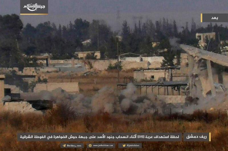 جيش الإسلام يصد هجوماً على