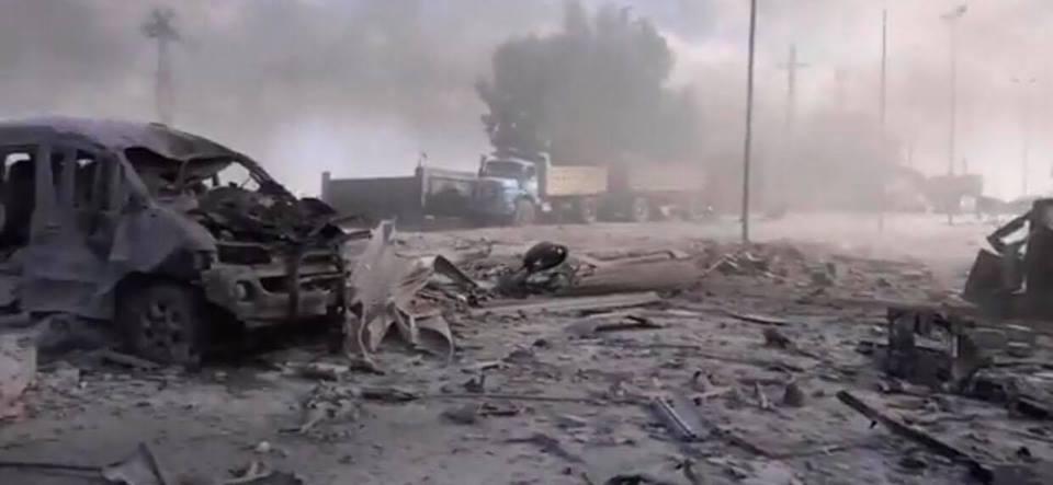 مقتل أكثر من 220 مدنياً في مجازر للتحالف الدولي في الرقة يوم أمس