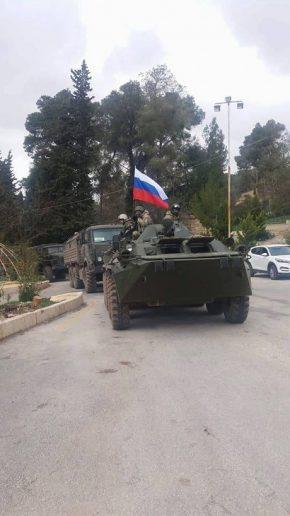 بعد اتفاق روسي-كردي، قوات روسية تتجه إلى عفرين لإقامة قاعدة عسكرية