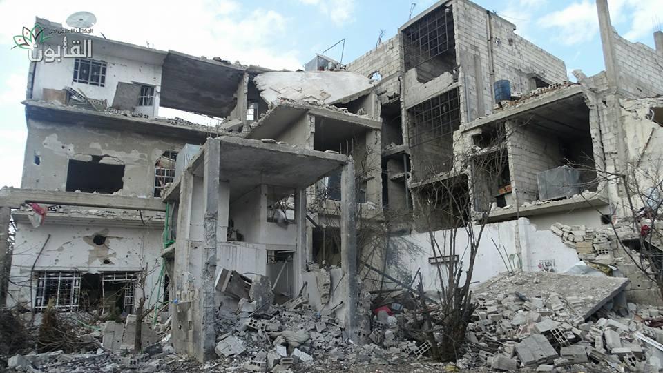 الثوار يفشلون هجوماً لقوات النظام على حي القابون ويكبدونها خسائر