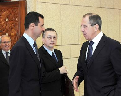لافروف: روسيا غير متمسكة ببقاء النظام السوري أو رحيله