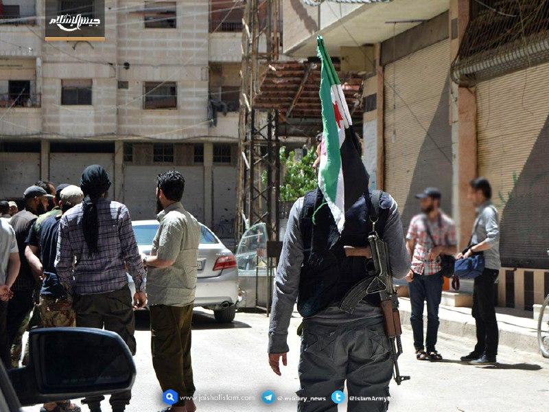 عملية تبادل أسرى بين جيش الإسلام وتنظيم الدولة جنوب دمشق