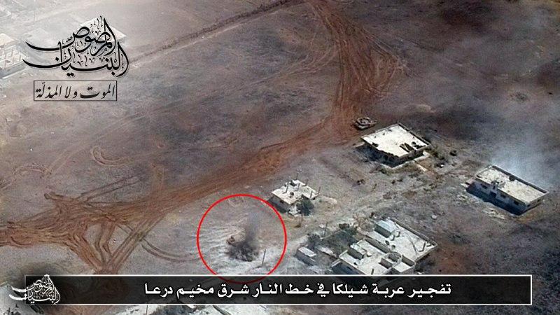 خسائر جديدة لقوات النظام في مخيم درعا