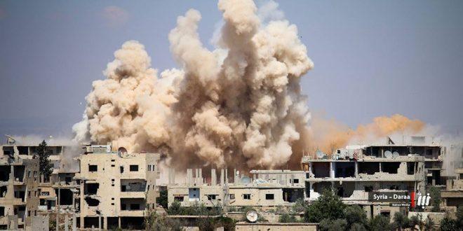 نشرة أخبار سوريا- استمرار القصف على درعا رغم الإعلان عن هدنة جنوب سورية، والثوار يحبطون محاولة تسلل في ريف دمشق -(3-7-2017)
