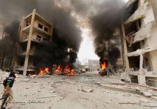 بالأرقام.. هذا ما فعله نظام الأسد بمدينة إدلب خلال 9 أيام من التحرير