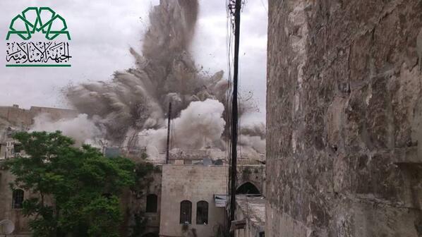 جهاد أسبوع : اغتنام وتدمير عشرات الدبابات في ريف دمشق ونسف نقاط عسكرية في ادلب وحلب من تحت الأرض
