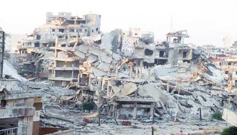 حمص عاصمة الثورة وستبقى