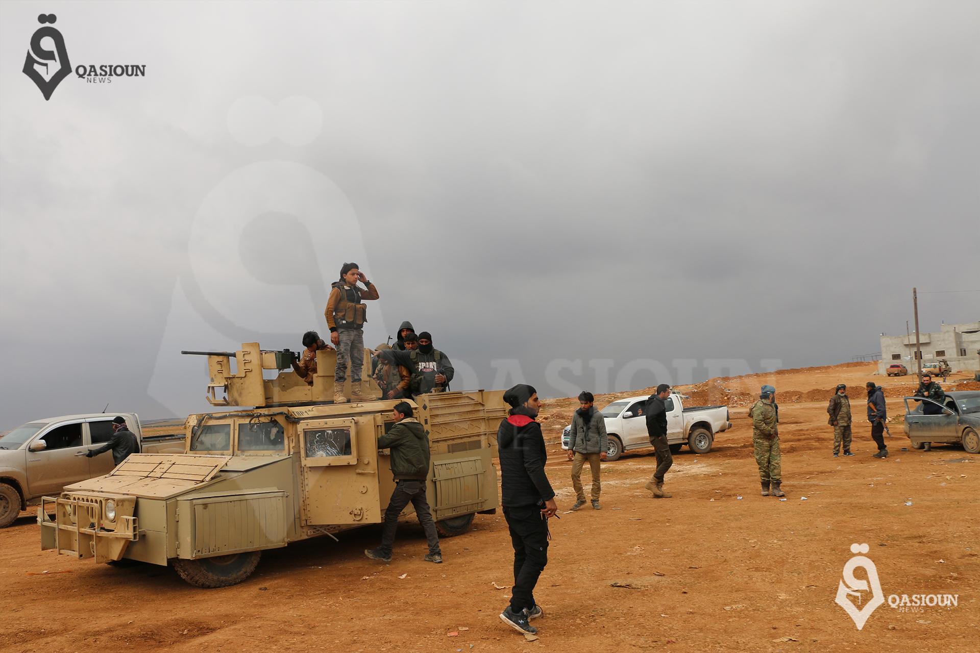 درع الفرات تسيطر على قرى غرب الباب وتمنع تقدم قوات النظام