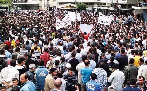 أخبار يوم الجمعة 13-4-2012م (جمعة ثورة لكل السوريين):