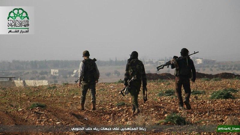 عملية انغماسية لأحرار الشام تقتل 11 عنصراً للنظام بريف حماة
