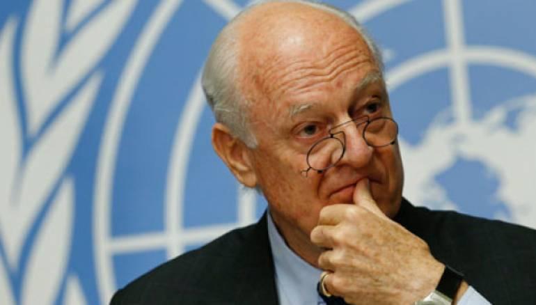دي ميستورا: مفاوضات جنيف ستركز على الدستور وأسلوب الحكم بسوريا