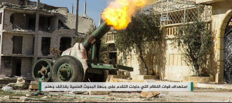 مواجهات عنيفة في ريف حلب الغربي، والنظام يفشل في التقدم