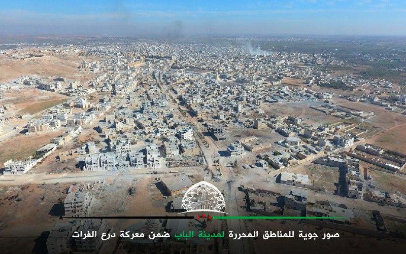 تحرير 230 منطقة سكنية وحوالي 2000كم من الأراضي منذ انطلاق درع الفرات