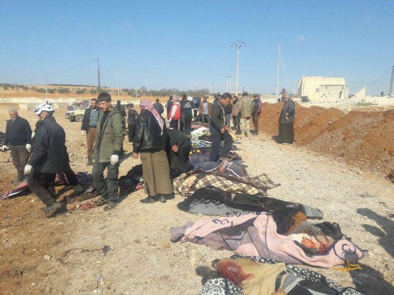 نشرة أخبار سوريا- نحو 60 قتيلاً في تفجير لتنظيم الدولة بريف حلب الشرقي، ومفاوضات جنيف تنهي يومها الثاني دون تقدم ملموس -(24-2-2017)