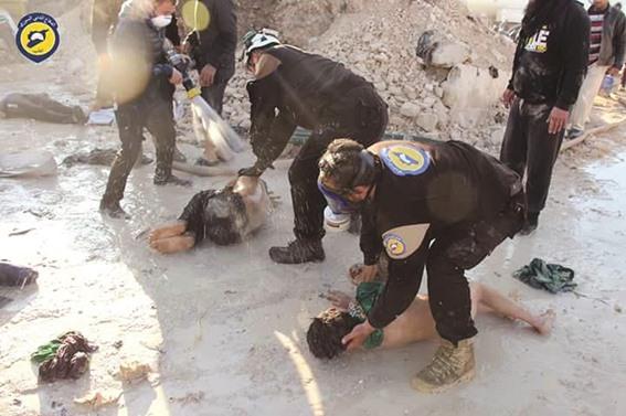شبكة حقوقية: نظام الأسد شن هجوماً كيماوياً جديداً