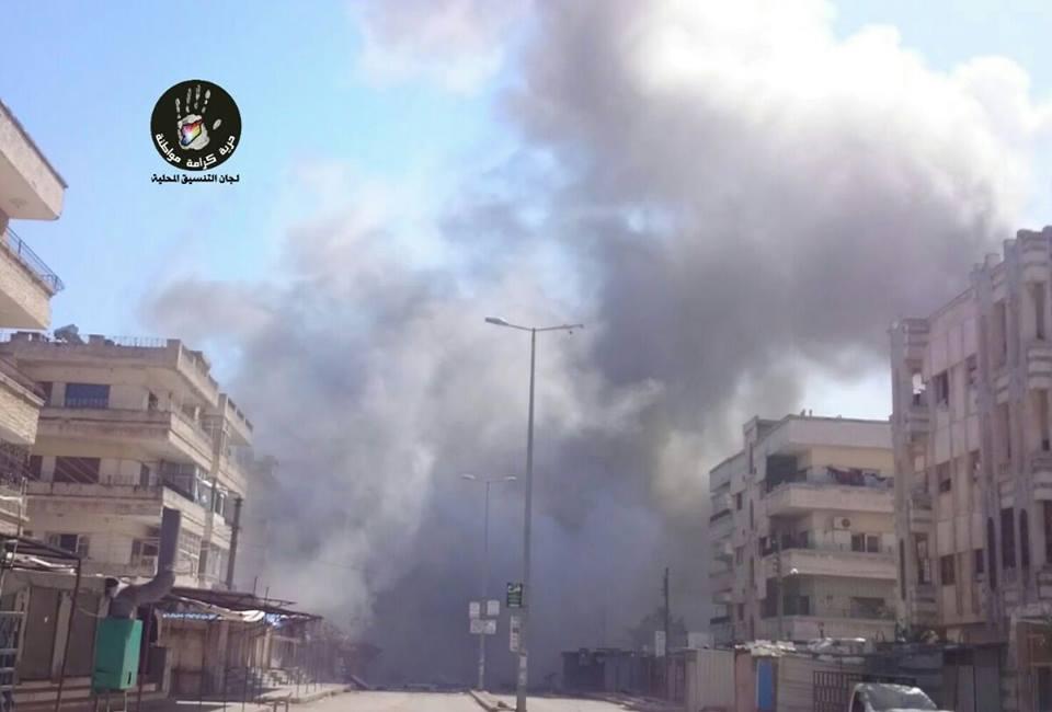50 قتيلاً -تقبلهم الله في الشهداء- حصيلة ضحايا يوم أمس الأحد في سوريا