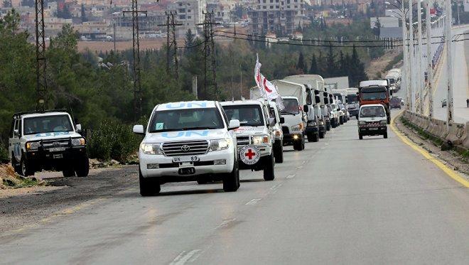 الأمم المتحدة تطالب نظام الأسد السماح بإدخال مساعدات إنسانية لغوطة دمشق الشرقية