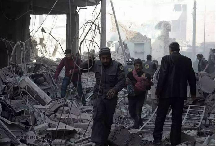 تقرير: روسيا والنظام قتلا 489 مدنياً خلال شهر شباط الماضي