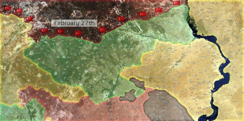 الجيش الحر يوقع خسائر في صفوف قوات النظام والميلشيات الكردية قرب منبج