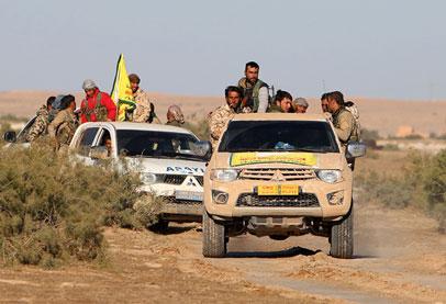 نشرة أخبار سوريا- الميلشيات الكردية تتهرب من مواجهة درع الفرات وتسلم خطوط التماس في منبج للنظام، و تركيا تتوعد برد قاسٍ -(2-3-2017)