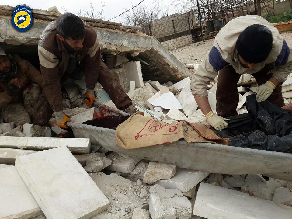 18 قتيلاً -تقبلهم الله في الشهداء- حصيلة ضحايا يوم أمس الجمعة في سوريا