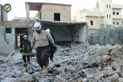 عشرات الغارات تستهدف ريف حلب