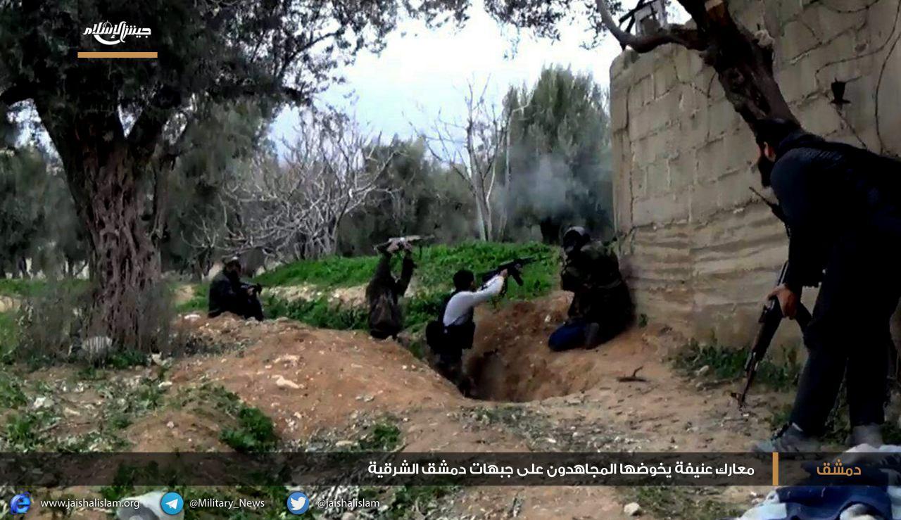 يوم أسود لقوات النظام في جبهات غوطة دمشق الشرقية