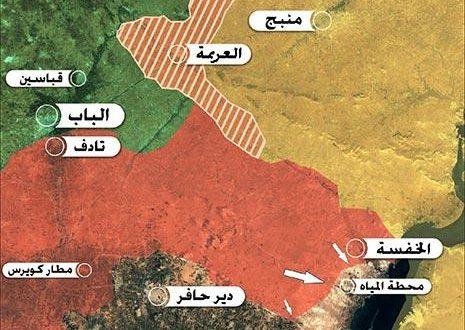 منبج تقاطع مشروع التفتيت في سوريا