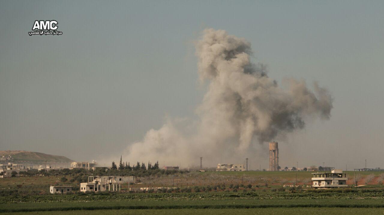 نشرة أخبار سوريا- طيران النظام يقصف مدن وبلدات إدلب بالكلور السام والفوسفور، ووفد المعارضة يناقش مسألة الانتقال السياسي في جنيف-(26-3-2017)