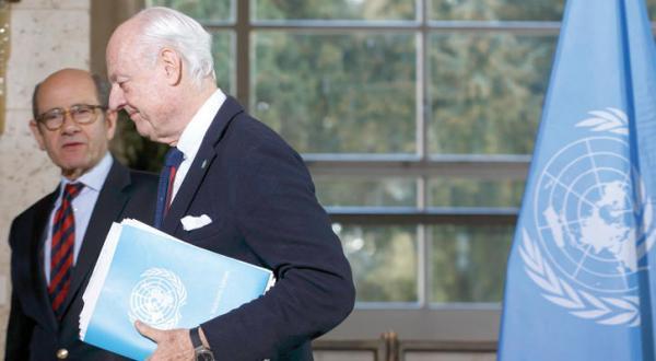 وكالة: دي ميستورا سيبقى في منصبه 6 أشهر إضافية