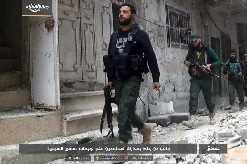 حصيلة: جيش الإسلام يكبد النظام 128 قتيلاً و18 دبابة خلال شهر واحد