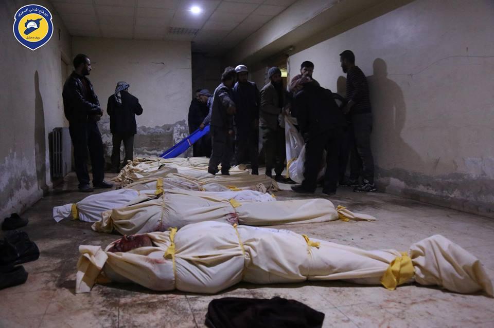 تصعيد روسي خطير، مئات الغارات على دمشق وحماة تحصد أرواح عشرات الأبرياء