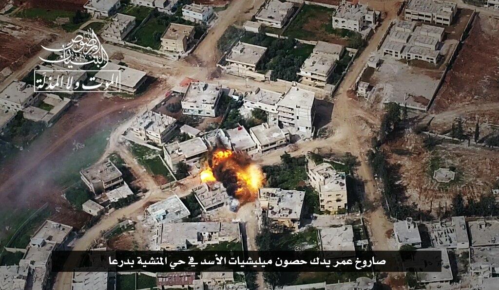 الثوار يحررون مناطق استراتيجية في منشية درعا، ويقتربون من السيطرة على كامل الحي