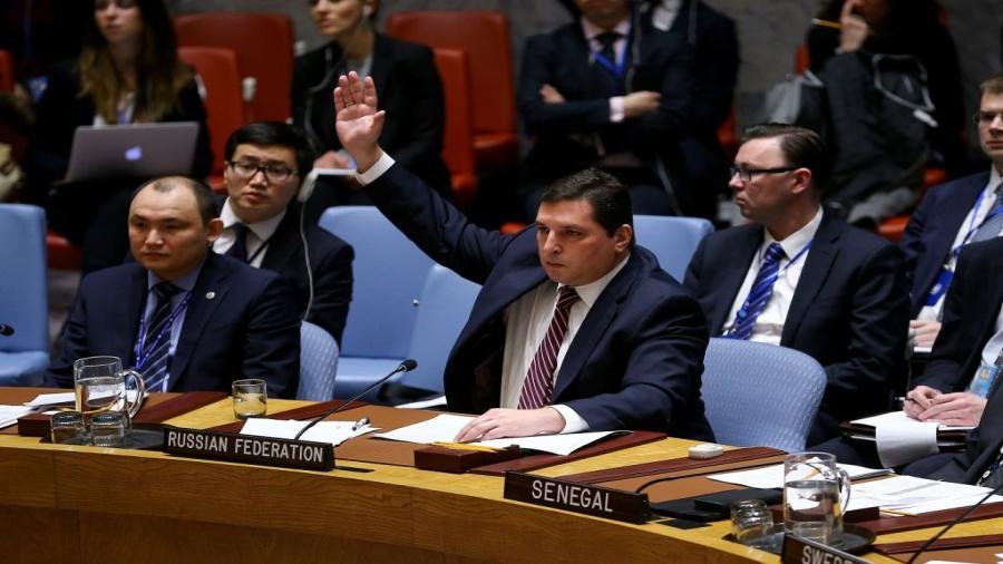 روسيا تعتزم استخدام الفيتو الثامن ضد قرار بخصوص هجوم