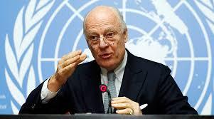 المتحدثة باسم المبعوث الأممي ترد على لافروف: دي ميستورا هو الوحيد الذي يقرر تأجيل المحادثات