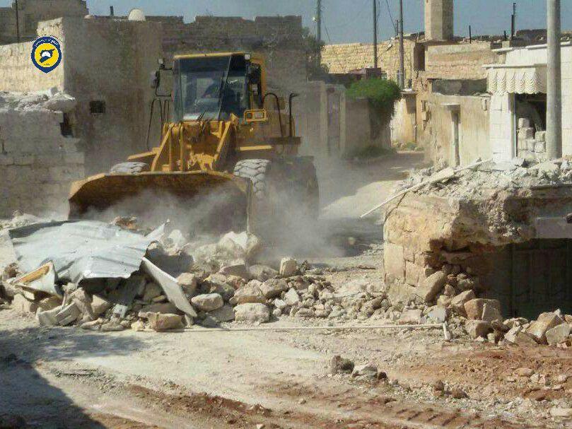 قصف عنيف على ريف حلب يوقع قتلى وجرحى