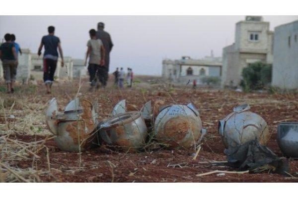 مقتل 4 مدنيين نتيجة انفجار قنبلة عنقودية في