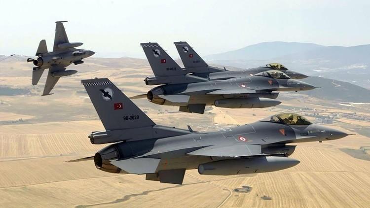 غارات تركية تستهدف مقرات للميلشيات الكردية الانفصالية في سوريا والعراق