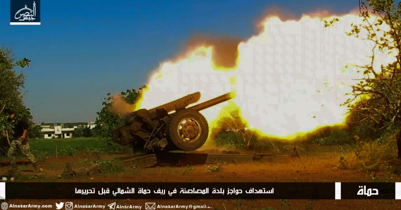 الثوار ينتقلون من الدفاع إلى الهجوم ويستعيدون مناطق تراجعوا عنها في ريف حماة الشمالي