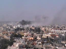 أخبار يوم الأحد - الجيش الحر يحذر من خطط اقامة دولة علوية انفصالية - 5-8-2012م