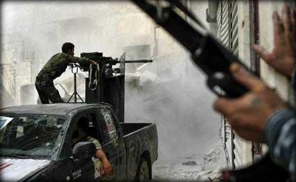 الجيش الحر يسيطر على سجن إدلب ويحرر المعتقلين