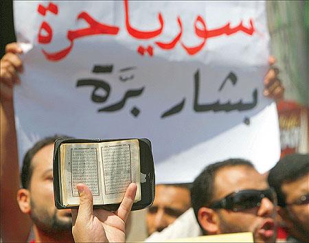 الثورة السورية, والإعلام المضاد .