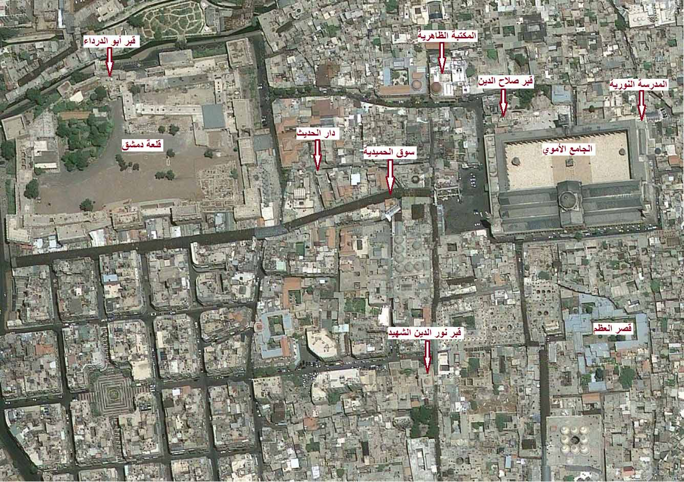 المسجد الأموي في دمشق ( قصة حضارة )