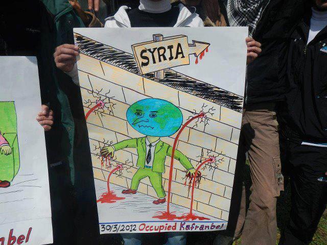 55 قتيلا بسوريا وتجدد الاشتباكات